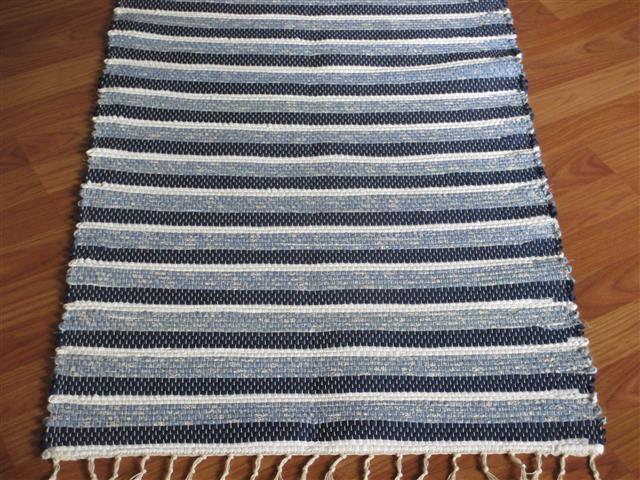 Hand Woven Rag Rugs Two Feet Wide Elizabeth S Loom Room