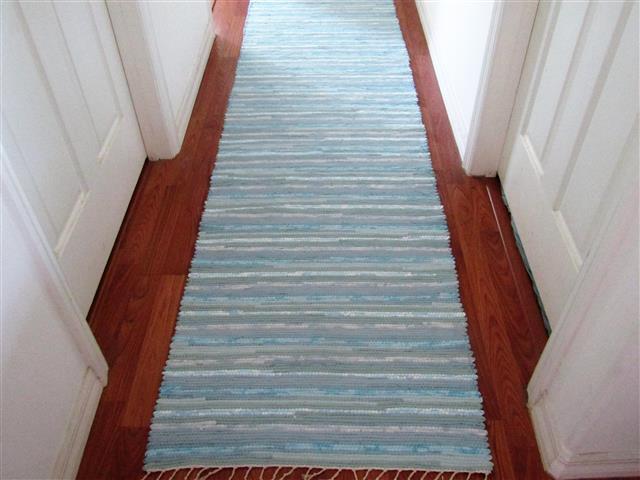 Hand Woven Rag Rug Runners Elizabeth S Loom Room