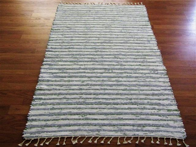 Handwoven rag rugs two and a half feet wide - Elizabeth\'s ...