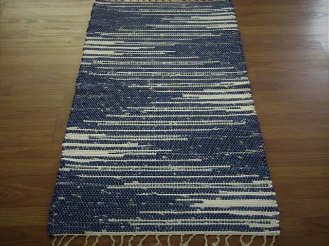 Hand woven rag rugs two feet wide - Elizabeth\'s Loom Room